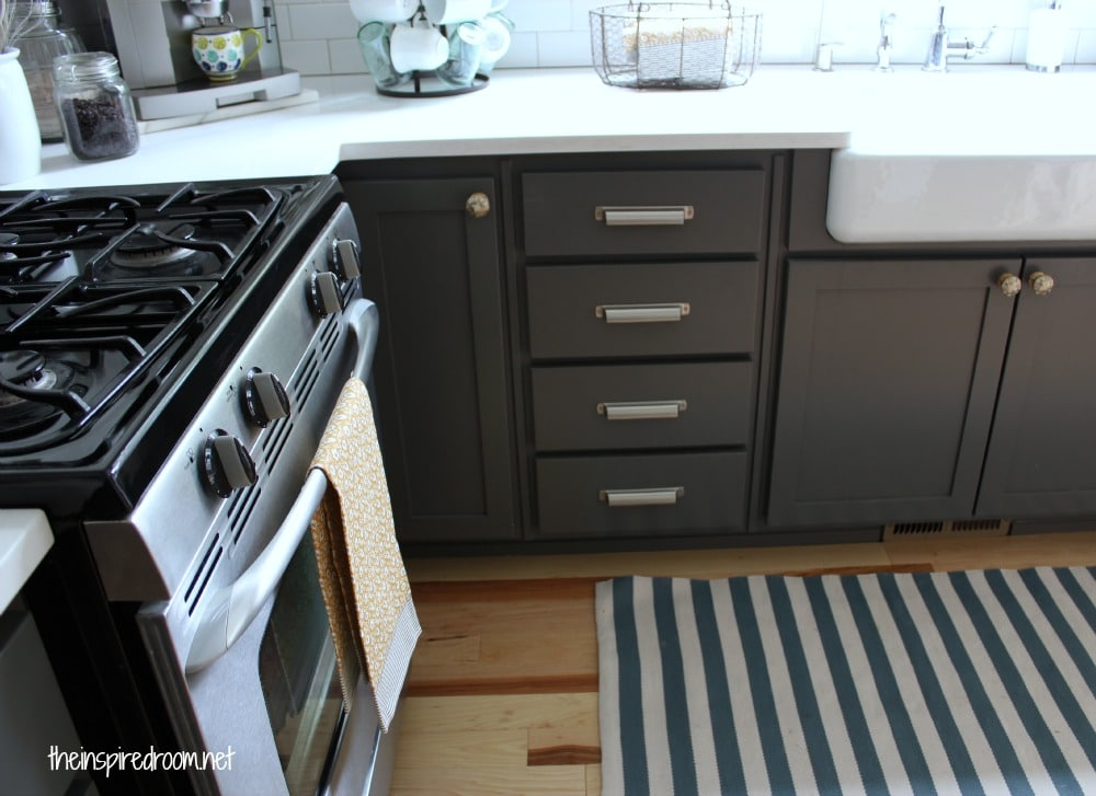 kendall charcoal kitchen cabinets