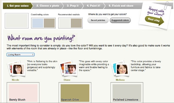 Cool Online Paint Color Tool