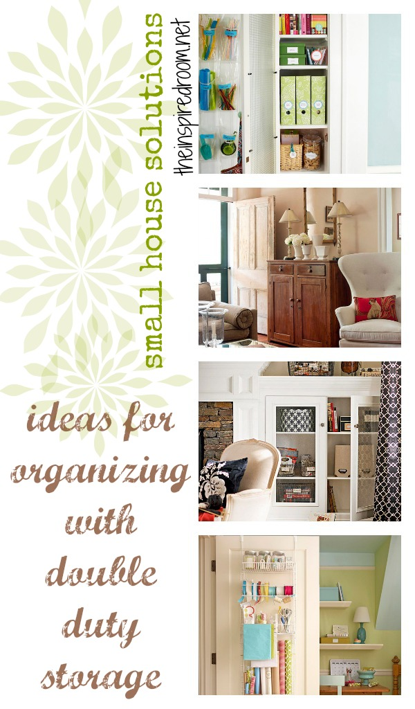 How to get organized in a small house the inspired room - Small house organization tips ...