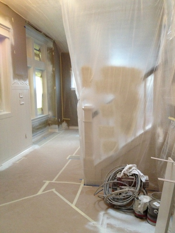 Painting the Interior Trim {Remodeling Project Update} - The ...
