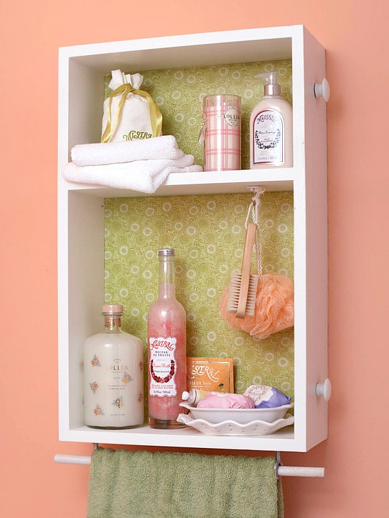 Marvelous  pretty u functional Bathroom Storage Ideas Repurpose drawer as wall shelf
