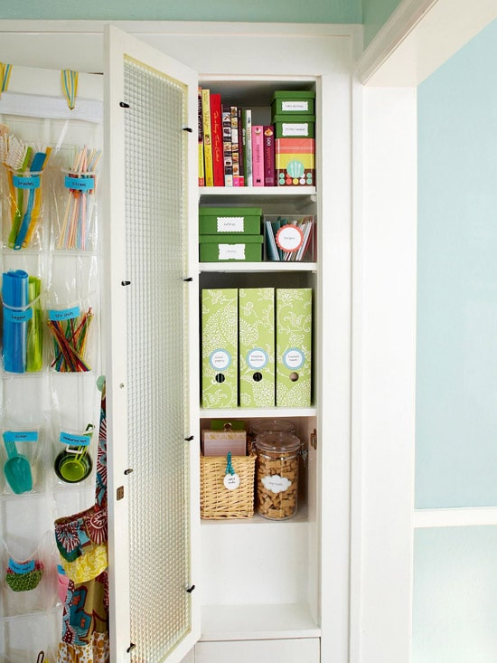 How To Organize A Small House how to get organized in a small house - the inspired room