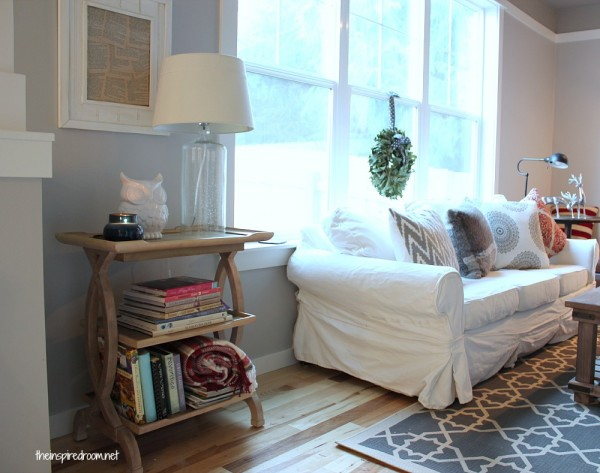 Decorating my Family Room {Adding New Textures & Design Interest}