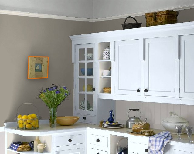 Cool online paint color tool the inspired room for White kitchen wall color