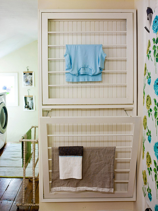 I love doing laundry not the inspired room Laundry room drying rack ideas