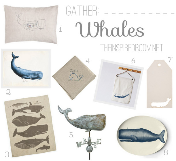 Gather whales decor gifts the inspired room for Room decor gifts