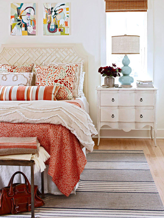 Decorating mixing and layering patterns and colors the - Colors for small rooms ...