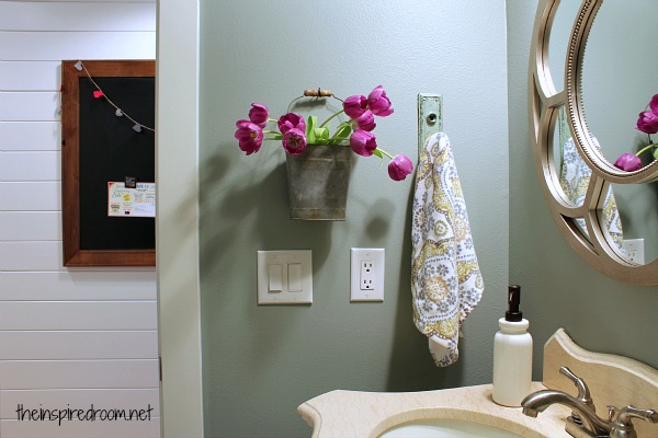 Powder Room, Take Two {2nd Budget Makeover REVEAL!} - The Inspired Room