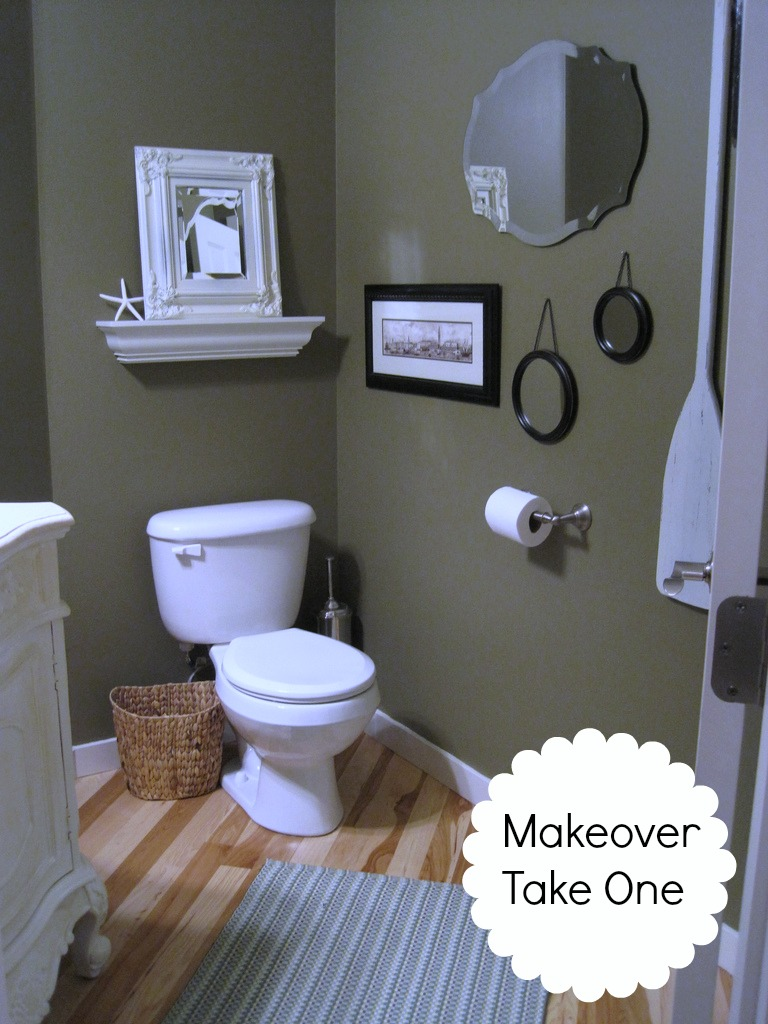powder room makeover take one