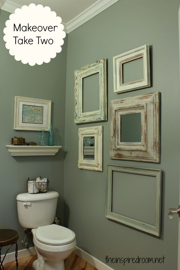 Room Design Pictures Ideas: Powder Room, Take Two {2nd Budget Makeover REVEAL!}