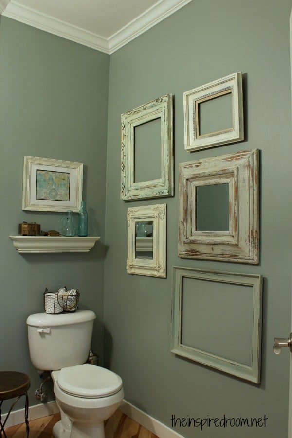 Powder room take two 2nd budget makeover reveal the - Small powder room decorating ideas ...