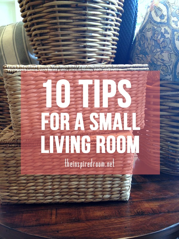 ten tips for a small living room