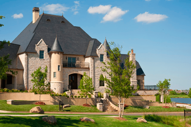 French-chateau-Castle-Exterior-Home