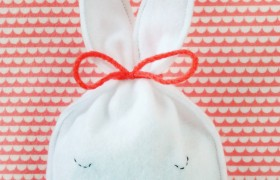 Easter Bunny Treat Pouch Diy