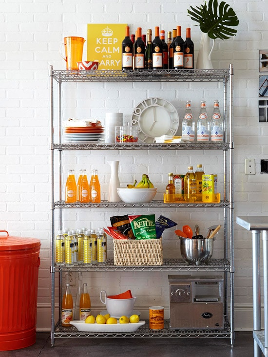 Freestanding-Pantry-Organization