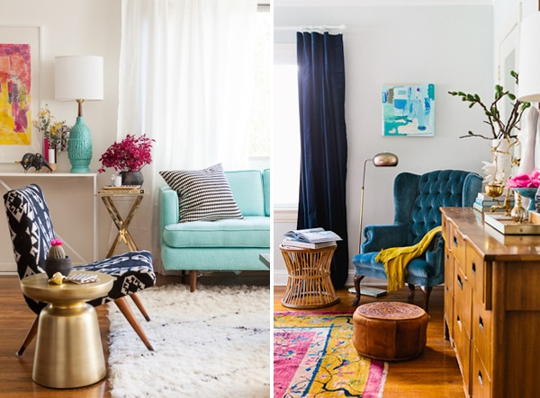 8 Happy Colorful Rooms