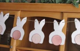 Bunny Bunting {Clean & Scentsible}