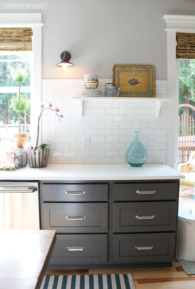 benjamin moore gray kitchen cabinets