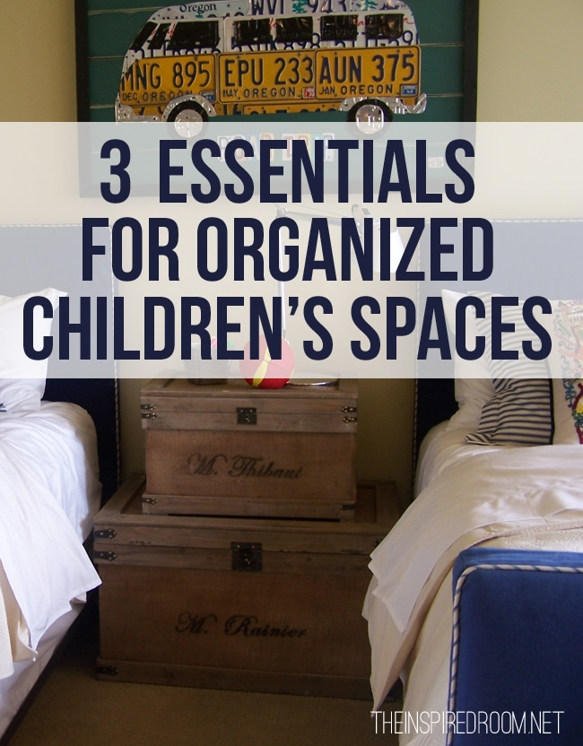 How to Organize {Ideas for Kids Rooms}