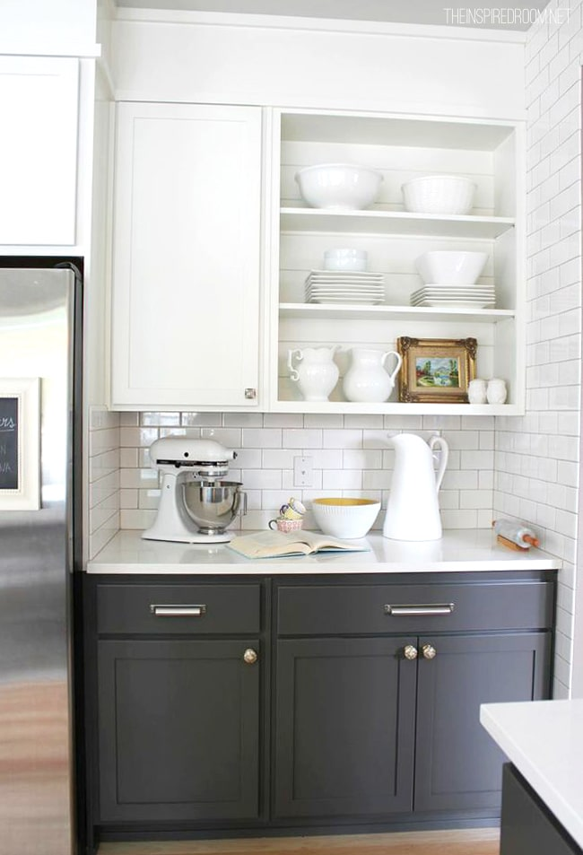Kitchen Gray Cabinets What Color On Walls