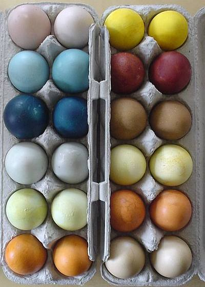 How to Make Naturally Dyed Easter Eggs {Ecocrazy Mom} - The Inspired ...