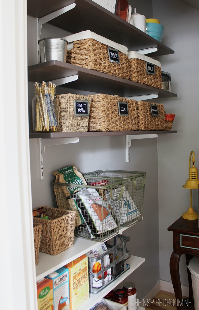 Kitchen Pantry {Reveal}