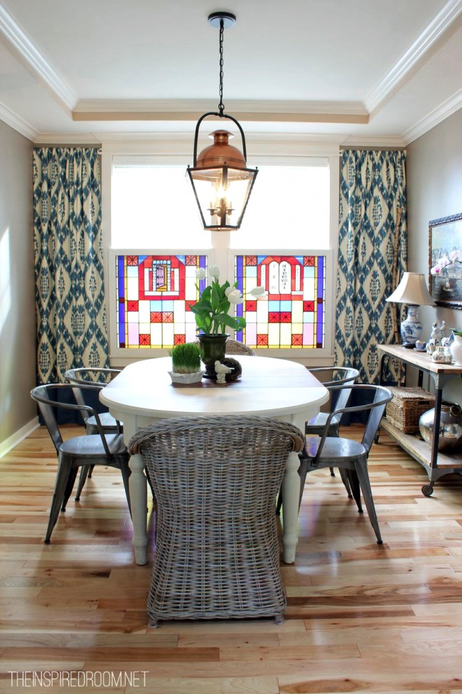 Spring Dining Room - The Inspired Room