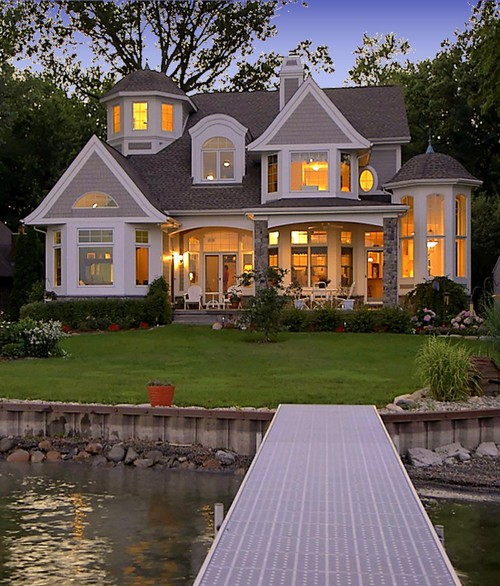 Beautiful Home Design: {Weekend Dreaming} Gorgeous Lake House