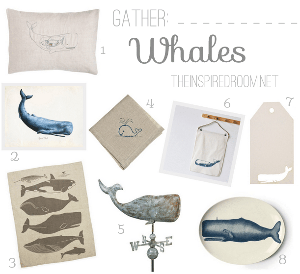 Gather: Whales {Decor & Gifts}