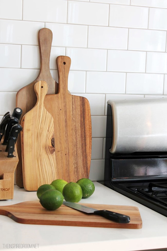wood paddle cutting boards