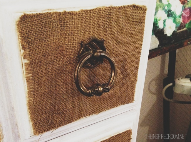 Burlap craft idea