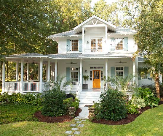 Coastal style porches simple home decoration for Coastal style home designs
