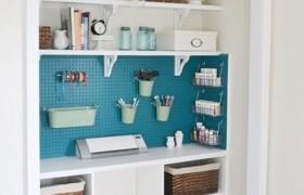 DIY Craft Closet {Beneath My Heart}