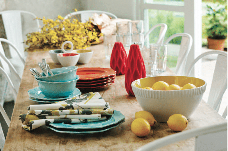 spring decorating target threshold dishes