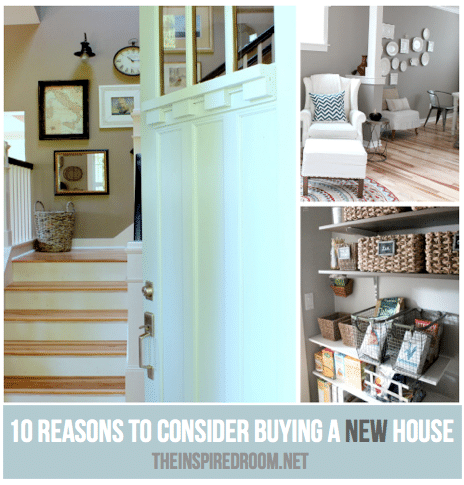 {Ten Reasons To Buy A New House}