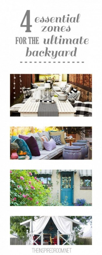 How to Design a Backyard {4 Essential Zones}