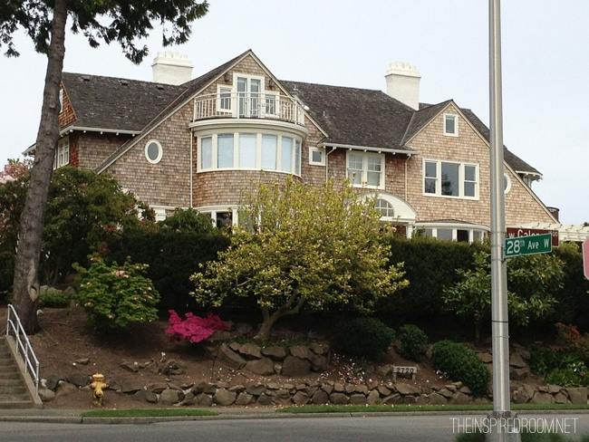 Drive by {Beautiful Houses Magnolia Neighborhood Seattle, Part Two}