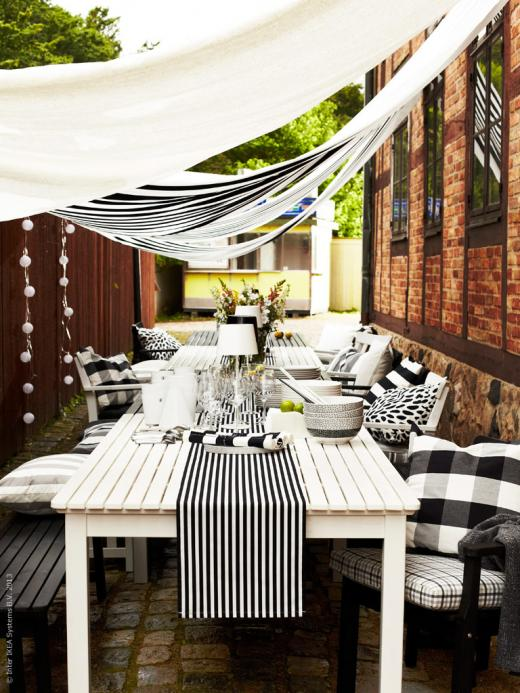 Pretty Outdoor Dining Area