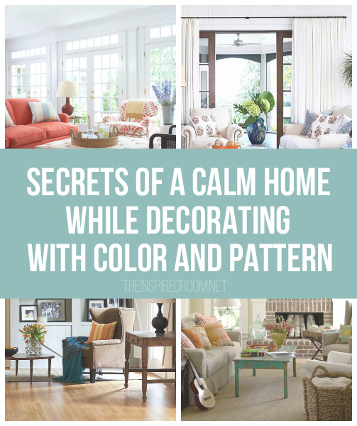 10 Living Rooms With Calming Colors: The Inspired Room