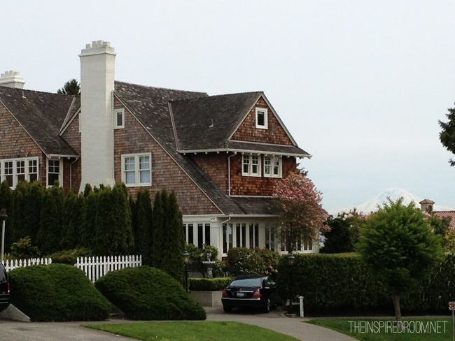 beautiful shingled house