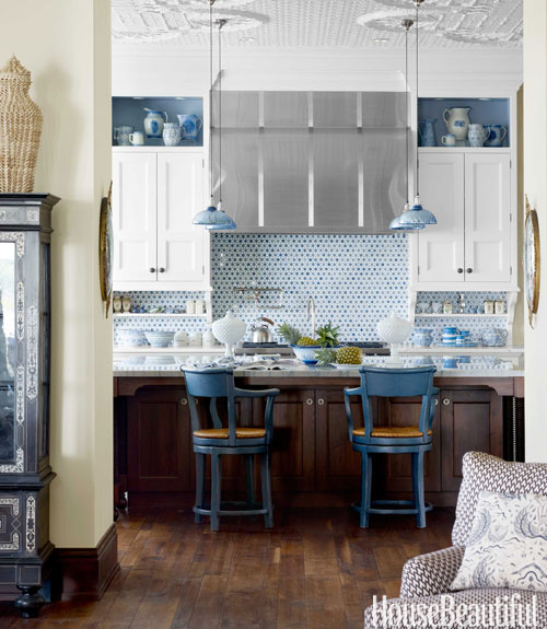 For The Love Of Kitchens Blue Amp White Kitchen The
