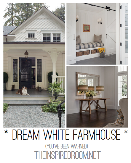 dream white farmhouse