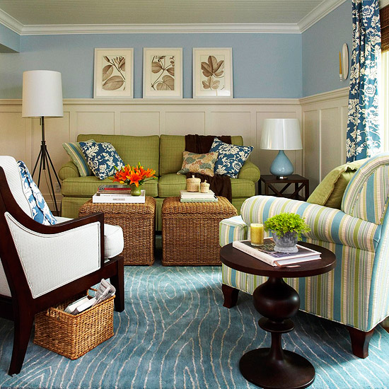 3 tips to mix match what you have to get the style you want the inspired room - Match colors living bedroom ...