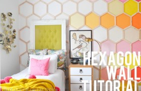 hexagon wall tutorial