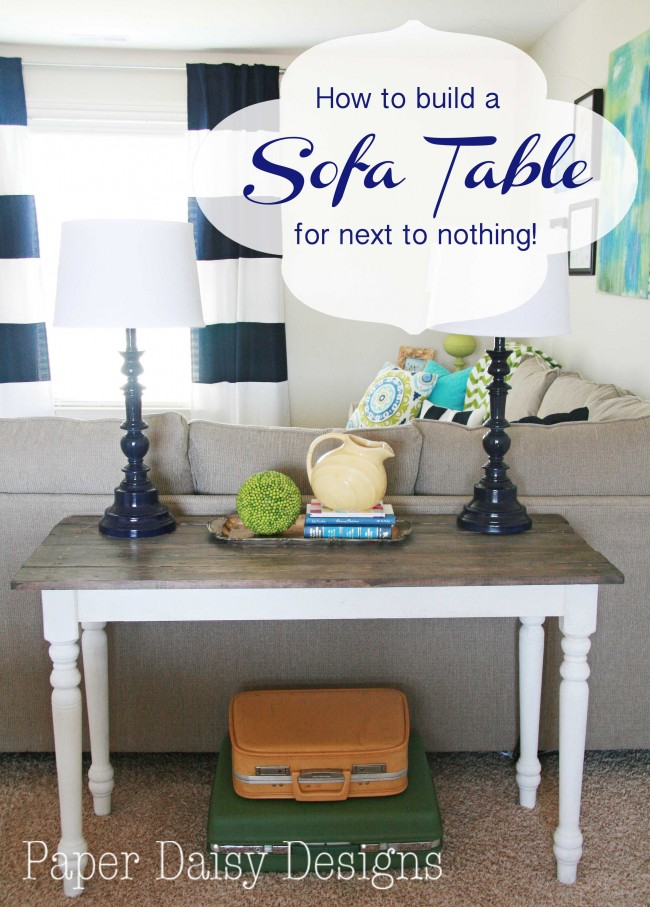 how to build a faux barnwood table