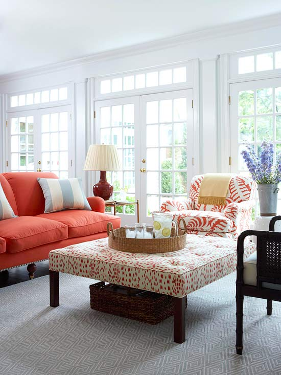 how to use color and pattern in decorating
