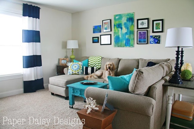 media room ideas on a budget paper daisy designs