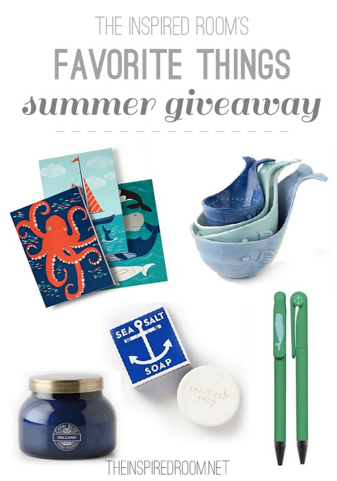My Favorite Summer Things {A 20 Blog Hop Giveaway}