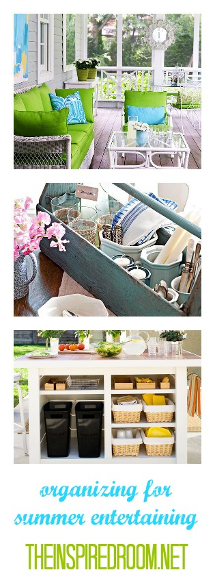 Organizing Summer Entertaining