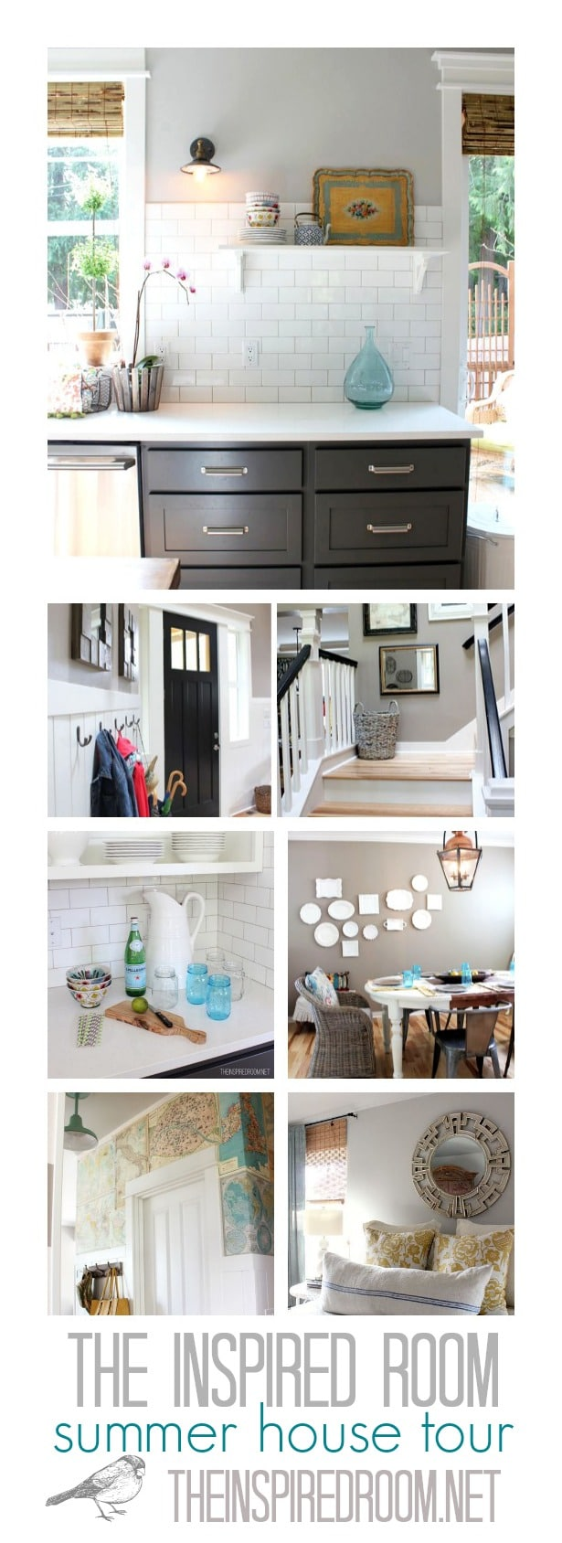 The Inspired Room Summer House Tour